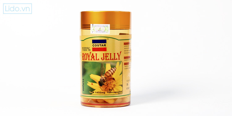 Sữa Ong Chúa Costar Royal Jelly Soft Gel Capsules 1450mg