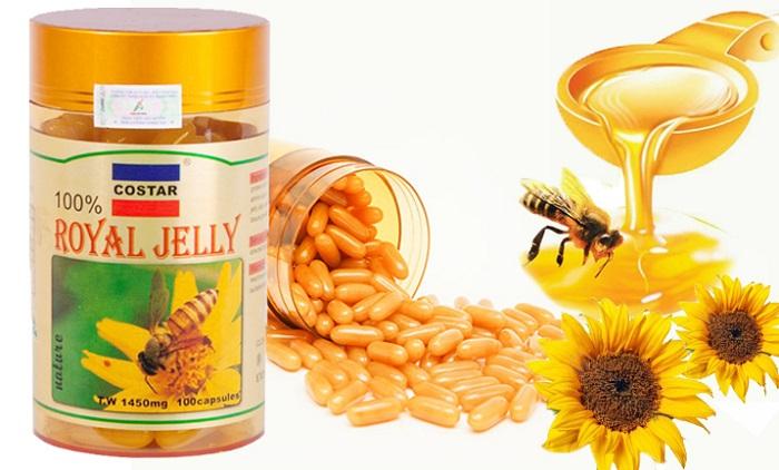 Sữa Ong Chúa Costar Royal Jelly Soft Gel Capsules 1450mg