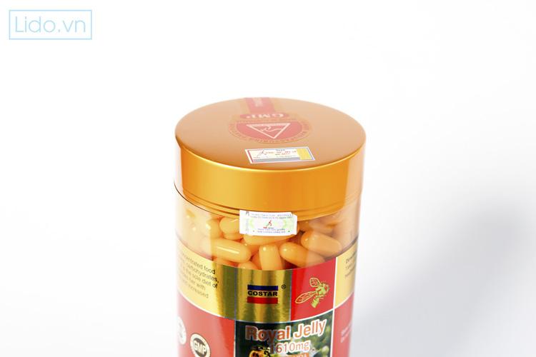 Cách sử dụng Sữa Ong Chúa Costar Royal Jelly Soft Gel Capsules 1610mg