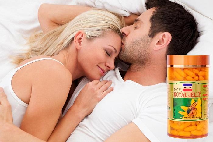 Viên uống sữa ong chúa tăng cường sinh lực nam giới