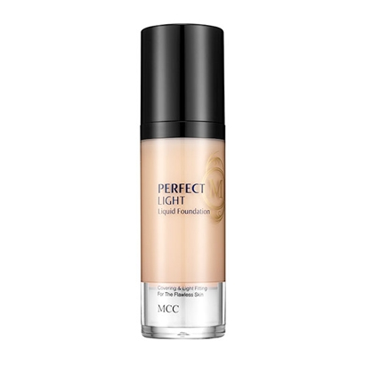 Kem nền dạng lỏng nhẹ MCC Perfect Light Liquid Foundation #1 Light Beige